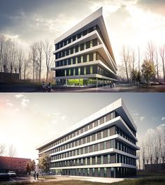 Office Building in Gliwice.  Architecture Design