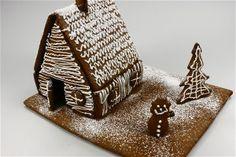 Kagehus (Dej og tegning) Fotograf: Per © Alletiders Kogebog
