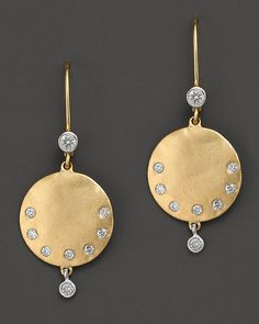 Meira T Tered Diamond And 14k Yellow Gold Earrings 0 22 Ct W Bloomingdale S