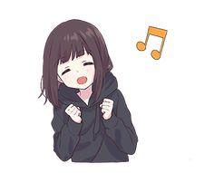 Cuando te pones a bailar sin ninguna razón... Anime Gifs, Me Anime, Cute Anime Chibi, Anime Neko, Kawaii Anime Girl, Anime Art Girl, Manga Anime, Anime Lindo, Cute Love Pictures
