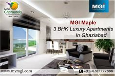 #MGIMaple offers the excellent #luxuries #residentialProperty In Ghaziabad at very comfortable cost for those people who are searching #realestate property , #2BHK & #3BHKApartments and #Flats. Read More: http://mgigroup.blogspot.in/2015/01/mgi-maple-magnificent-residential.html