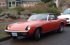 1973 Jensen Healey - I owned one.  has a Lotus engine and was quite fast.