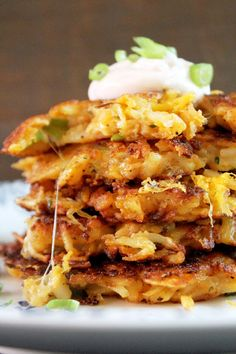 Cheesy Potato Latkes