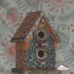 How To Make an Edible Birdhouse