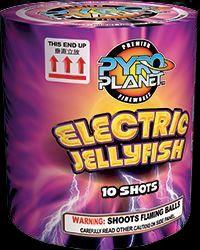 Electric Jellyfish 10 Shot | NCI, Inc. Indiana Fireworks Wholesale