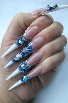 Too bad they have cracked down on how we wear our nails at work because I was really wanting to get these ;)