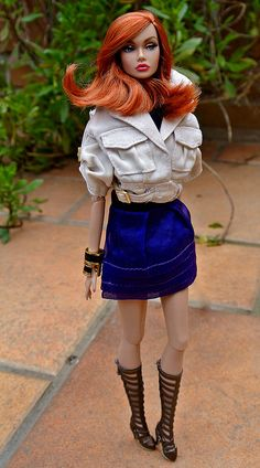 Poppy Parker Mood Changers | Jesús | Flickr Barbie Life, Barbie World, Barbie Clothes, Barbie Outfits, Poppy Parker, Vintage Barbie Dolls, Beautiful Dolls, Fashion Dolls, High Fashion