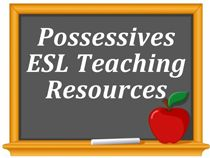 Possessive Adjectives, Pronouns and Nouns ESL EFL Teaching Resources - This page provides teaching resources about possessive pronouns, adjectives and nouns. These activities help students learn about possessives in a variety of fun and interesting ways.