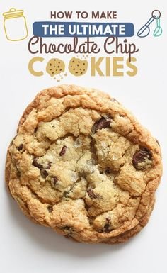 Find the full recipes for this cookie and the three others — cakey, crispy, or bakery-style — at the bottom of this post.