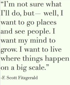 Go places