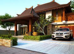 Rumah Minimalis Gaya Jawa modern