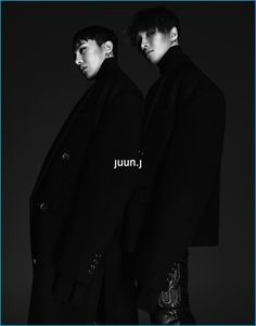 BIGBANG members G Dragon and Taeyang are the latest idols to endorse the fashion brand Juun.J. They are modeling for the 2016 fall and winter campaign. Photos of the pair were revealed the social media for both G Dragon and Taeyang. Korean K Pop, Korean Boy, 2ne1, Btob, G Dragon Instagram, Juun J, Culture Pop, Choi Seung Hyun, Korean Entertainment