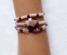 bracelets perles par lot de trois : Bracelet par kiline