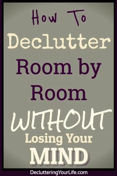 Declutter Your Home Checklist By Room and tips for decluttering your home - tips, tricks and ideas to declutter your home even if feeling overwhelmed - here's how to START decrapifying your house room by room to finally get organized at home Getting Organized At Home, Getting Rid Of Clutter, Declutter Your Home, Organizing Your Home, Organizing Tips, House Cleaning Tips, Cleaning Hacks, Cleaning Schedules, Speed Cleaning