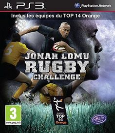 Jonah Lomu Rugby challenge PlayStation 3 REGION FREE English with French ManualArtwork *** You can get additional details at the image link. Note:It is Affiliate Link to Amazon.