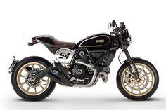 Las Ducati Scrambler no tienen fin y ahora le toca el turno a la versión Ducati Scrambler Cafe Racer. La gama neo retro de la firma italiana no para de