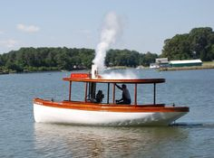 Steam boats built at Rappahannock Boat Works. Steam Boats, Welcome Aboard, Canal Boat, Tug Boats, Small Boats, Power Boats, Steam Engine, Wooden Boats, Boat Building
