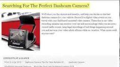 Dash Cameras | Best dash cameras and car black box camera reviews for cars, trucks and In-vehicle video recorders  #DashCameras #TruckersBlackBoxDashcam #CarBlackBox
