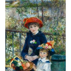«Pierre-Auguste Renoir: Two Sisters (On the Terrace), 1881