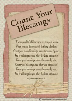 Count your blessings! Name them one by one and let it transform stinkin thinkin into thanksgiving and praise! Praise The Lords, Praise And Worship, Christian Songs, Christian Quotes, Lds Quotes, Inspirational Quotes, Hymn Quotes, Religious Quotes, Then Sings My Soul