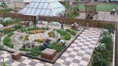 Una comunidad de Japón cultivando sus hortalizas