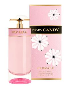 PRADA CANDY FLORALE by PRADA. The fragrance's light airiness puts the sparkle in Candy, followed by the tender powdery notes that echo her spring-like grace. A final whisper of warmth and honey reflects Candy's sensual essence. The scent's feminine, but playful and sexy too.What mood did it put you in? I felt elegant and grownup (well it is Prada).