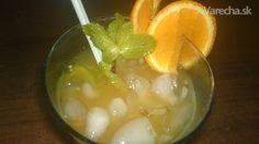 Osviežujúci pomarančový nápoj so zázvorom (fotorecept)