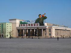 North Korean Propaganda North Korea, Korean, Street View, Posters, History, Travel, Pictures, Historia, Viajes