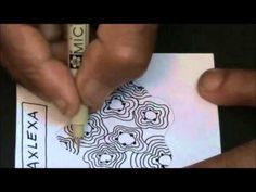 ▶ ABC of Zentangle A - YouTube