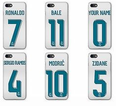 Cristiano Ronaldo  Real Madrid 2018 Kit Jersy Phone Cover Case fits Apple iPhone