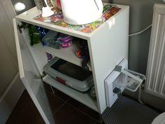 Hidden Litter Box U2013 IKEA Hack