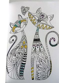 """""""Alternative"""" Necklaces for Our Cats and Dogs Zentangle Drawings, Zentangle Patterns, Zentangles, Mandala Design, Mandala Art, Dot Painting, Painting & Drawing, Coloring Books, Coloring Pages"""