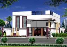 Residential Plots In Shamshabad A Perfect Chance for the Investors Front Elevation Designs, House Elevation, Independent House, House Front Design, Storey Homes, Best House Plans, Residential Architecture, Building Design, Hyderabad