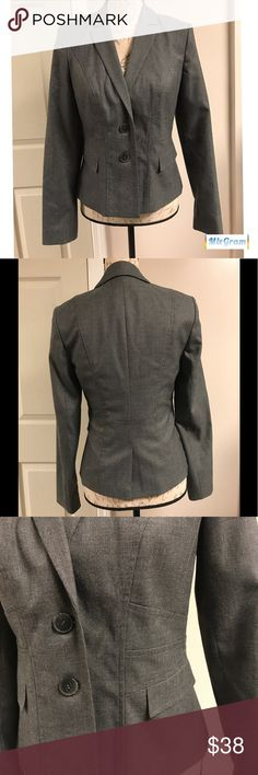 Halogen Grey Blazer Halogen Grey Blazer!  Great for business or business casual days! Halogen Jackets & Coats Blazers