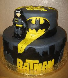 Cakes Batman Kids Birthday Cake – Pictures Of
