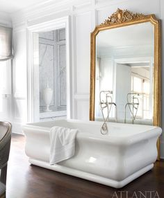 Where I want to be right now!! @atlantahomesmag | #instacurated #curatedbathroom