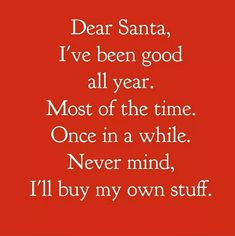 I have been naughty...but also very nice...