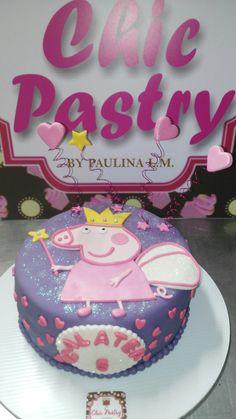 Pastel fondant Pepa Pig