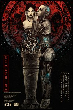 Ex Machina by Nikita Kaun - Home of the Alternative Movie Poster -AMP- Movie Posters 2016, Movie Poster Art, Film Posters, Art Posters, Ex Machina Movie, Science Fiction, Movie Synopsis, Superhero Poster, Keys Art