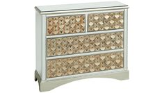 Stein World - Savona 4 Drawer Mirrored Chest - Jordan's Furniture