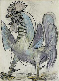Pablo Picasso · Le Coq · 1938