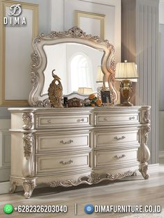 Six Drawer Dresser, Double Dresser, Dresser With Mirror, Acme Furniture, Furniture Styles, Warehouse Furniture, Moldings And Trim, Headboard And Footboard, Marble Top