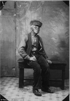 The last faces of American slavery: Stunning pictures of men and women who were born into slavery and photographed more than 70 years after being freed.