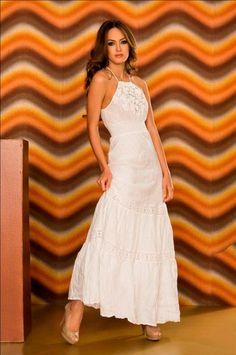 Vestido Blanco  The Color Wear