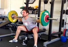 Seated Good Mornings I was introduced to this exercise over thirty years agoby Canadian national weightlifting coach Pierre Roy, who himself had learned it f