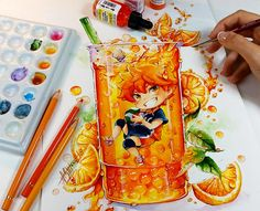 Alors ça c'est un véritable coup de coeur, c'est trop mignon ce que cette artiste Allemande réalise. Naschi c'est son nom d'artiste, j'adore son style ainsi que les couleurs qu'elle choisit, et vous allez voir que vous aussi vous allez tomber sous le charme de son coup de pinceau, c'est tellement cute !! Le Pikachu […]