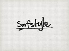 Surf_style by Ronald Hagenstein Style Surfer, Surf Style, Surf Design, Logo Design, Surf Girls, Surf Logo, Surf Brands, Typography, Lettering