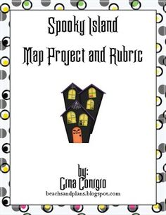 Spooky Island Map Project-mapping skills