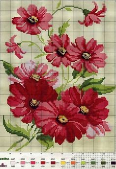 Poppies...pillow maybe cross stitch #cross stitch #Afs 5/5/13