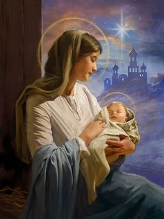 Leading Illustration & Publishing Agency based in London, New York & Marbella. Jesus And Mary Pictures, Mother Mary Images, Catholic Pictures, Images Of Mary, Mary And Jesus, Blessed Mother Mary, Blessed Virgin Mary, Mary Jesus Mother, Religious Images
